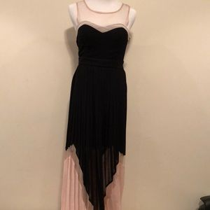 Full length pleated gown